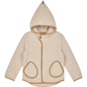 Finkid Jumppa Wool Jacket Kids pebble/cinnamon